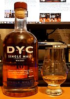 DYC 10letá Single Malt 40%